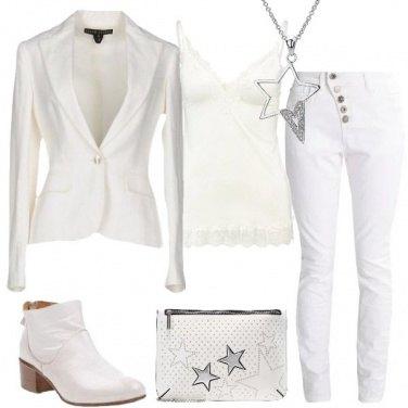 Outfit Toni di bianco