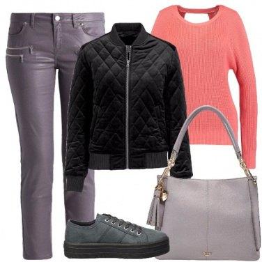 Outfit Maglione particolare