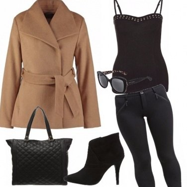 Outfit Ragazza glamour