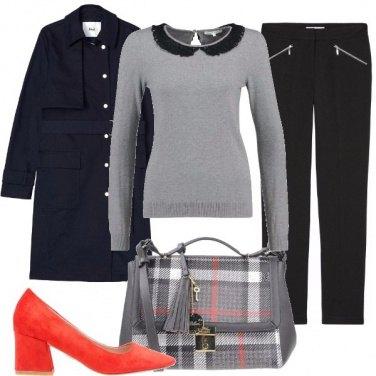 Outfit La borsa scozzese