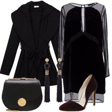 Outfit L\'eleganza del velluto
