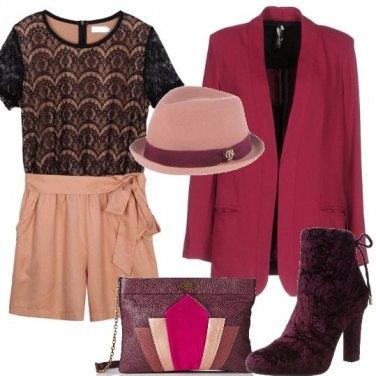 Outfit Stivaletto di velluto