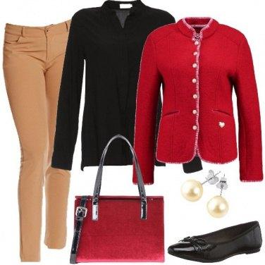 Outfit La piccola borsa di velluto