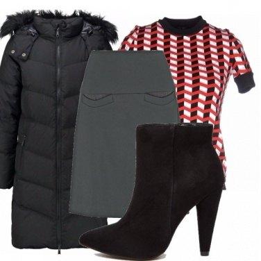 Outfit Piumino lungo_saldi