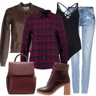 Outfit Come un boscaiolo