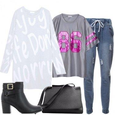 Outfit La felpa oversize