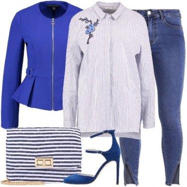 Outfit Note di blu