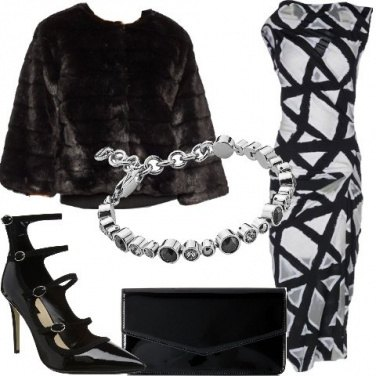Outfit Geometrie sull\'abito