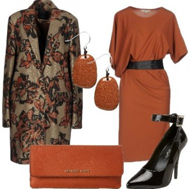 Outfit Cerimonia con i colori della terra