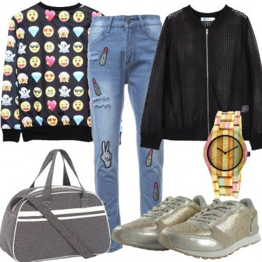 Outfit Bomber a rete