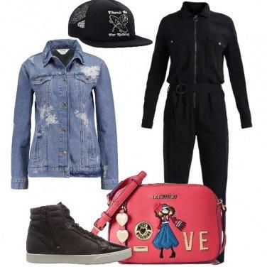 Outfit La jumpsuit in jeans