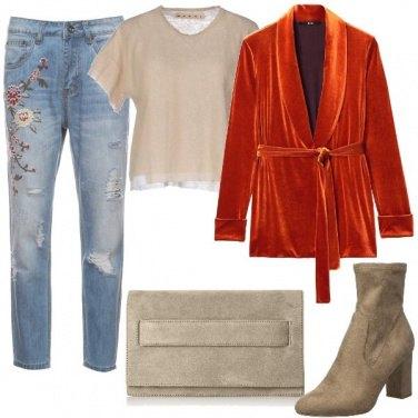 Outfit Velluto liscio