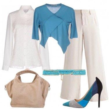 Outfit Corto e incrociato