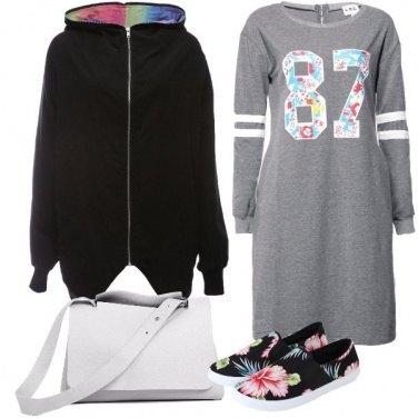 Outfit L\'abito di felpa