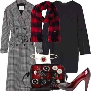 Outfit Dettagli tartan
