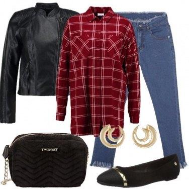 Outfit La borsa di velluto