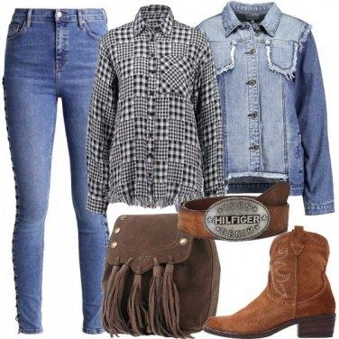 Outfit Ispirazione western per tutti i giorni