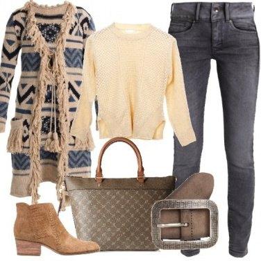 Outfit Con le frange