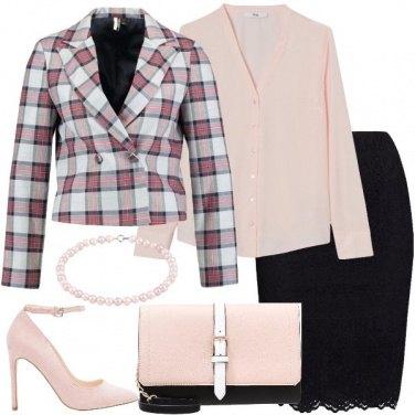 Outfit Il blazer a scacchi