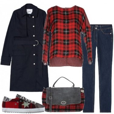 Outfit Tartan che passione