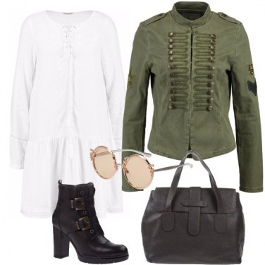 Outfit Hippie militare