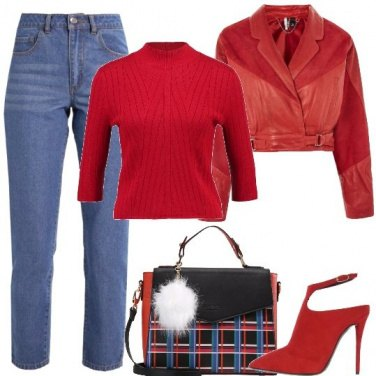 Outfit Molto rosso