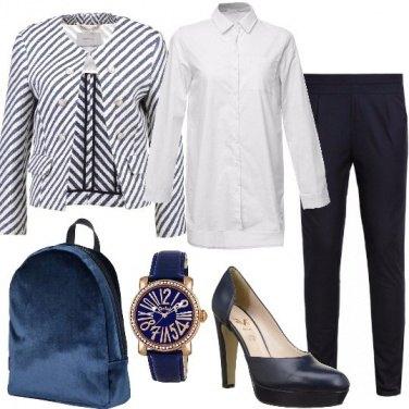 Outfit Lo zaino in velluto