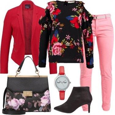 Outfit Fiori e sguardi