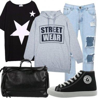 Outfit La felpa street