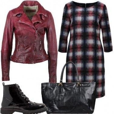 Outfit Quadri rock