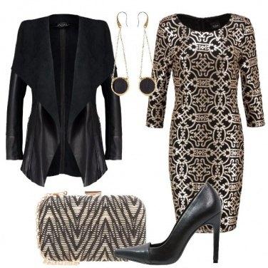 Outfit Il nero e l\'oro
