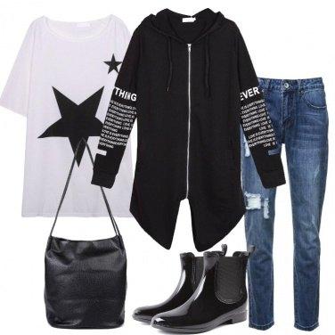 Outfit Stivaletti per la pioggia