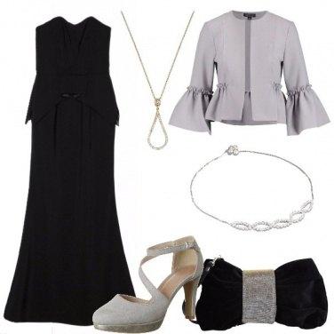 Outfit La borsa in velluto