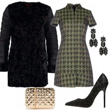 Outfit Chic pied de poule