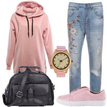 Outfit La felpa con l\'unicorno