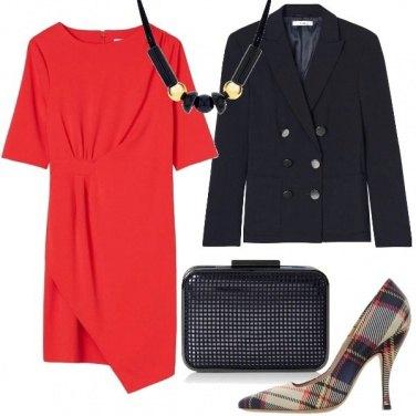 Outfit Blazer e tubino