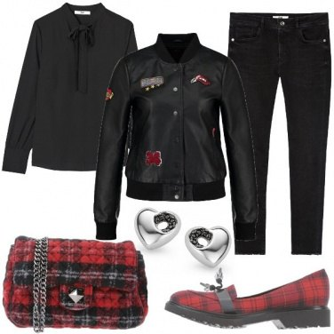 Outfit Accessori in tartan