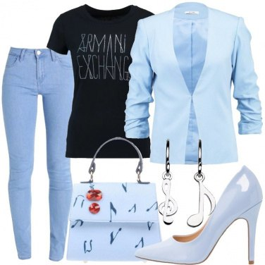 Outfit Note d\'azzurro