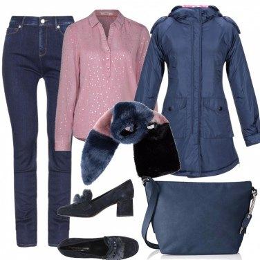 Come abbinare il cappotto con zip blu: 91 Outfit Donna