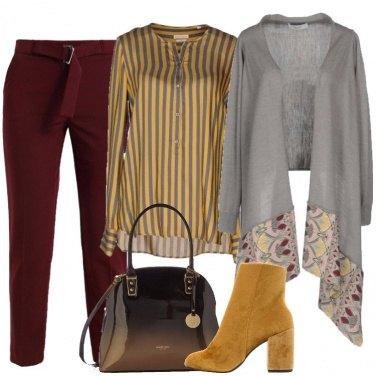 Outfit Il cardigan grigio