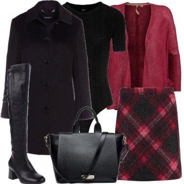 Outfit Coperta e femminile