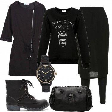Outfit Non parlatemi prima del caffè