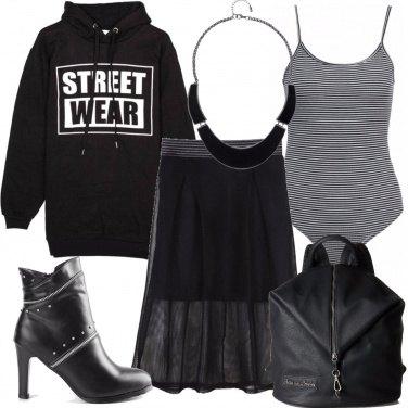 Outfit La felpa urban