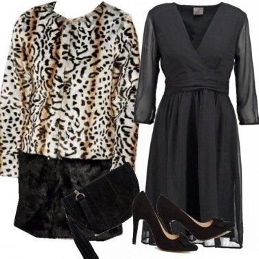 Outfit Elegante e graffiante