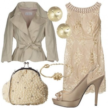 Outfit Splendida in oro