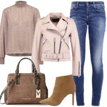 Outfit Rock e delicata