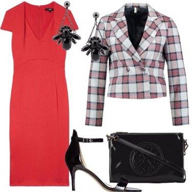 Outfit Blazer a scacchi