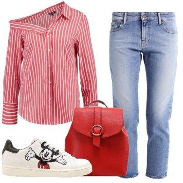 Outfit Un\' insolita camicia