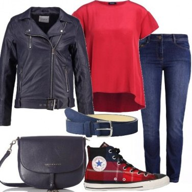 Outfit Jeans a sigaretta