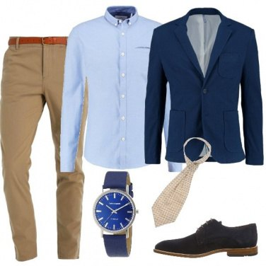 Outfit Giacca blu